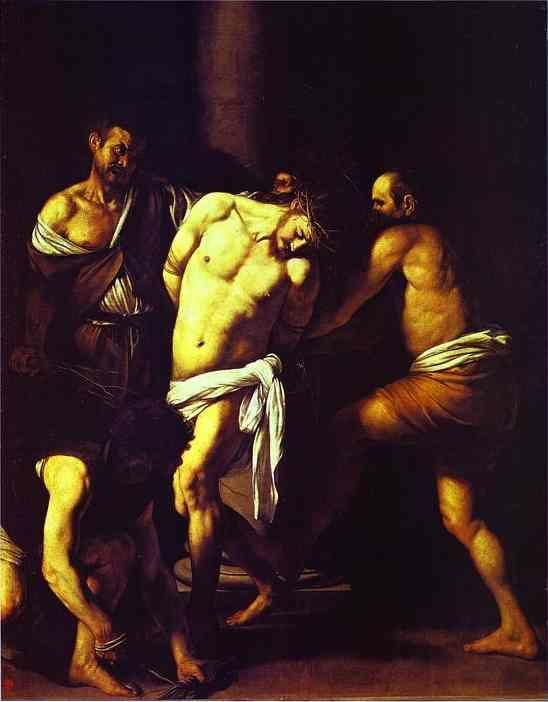 Caravaggio. The Flagellation of Christ.
