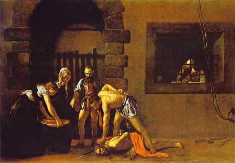 Caravaggio. The Beheading of St. John the Baptist.