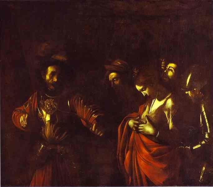 Caravaggio. The Martyrdom of St. Ursula.