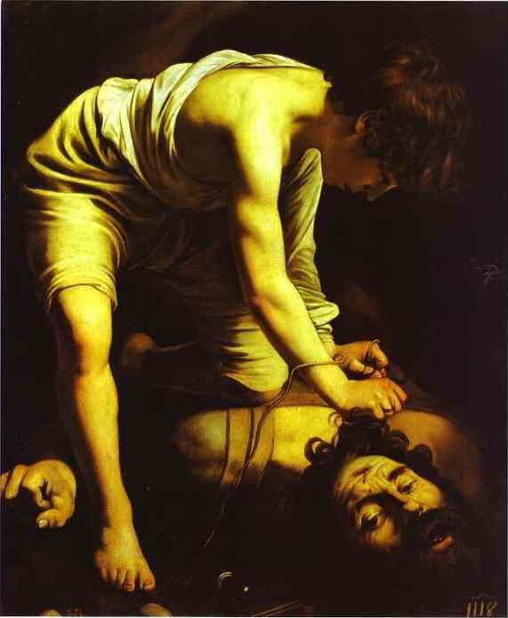 Caravaggio. David with the Head of Goliath.