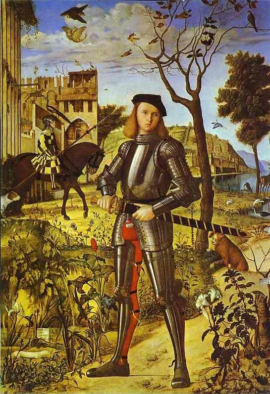 Vittore Carpaccio. Young Knight.