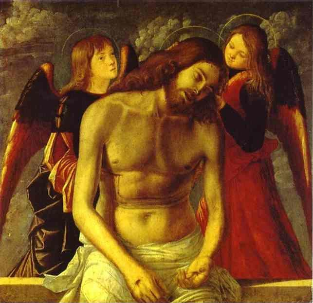 Vittore Carpaccio. The Dead Christ Supported by Angels.