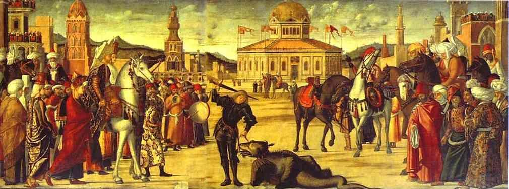 Vittore Carpaccio. Triumph of St. George.
