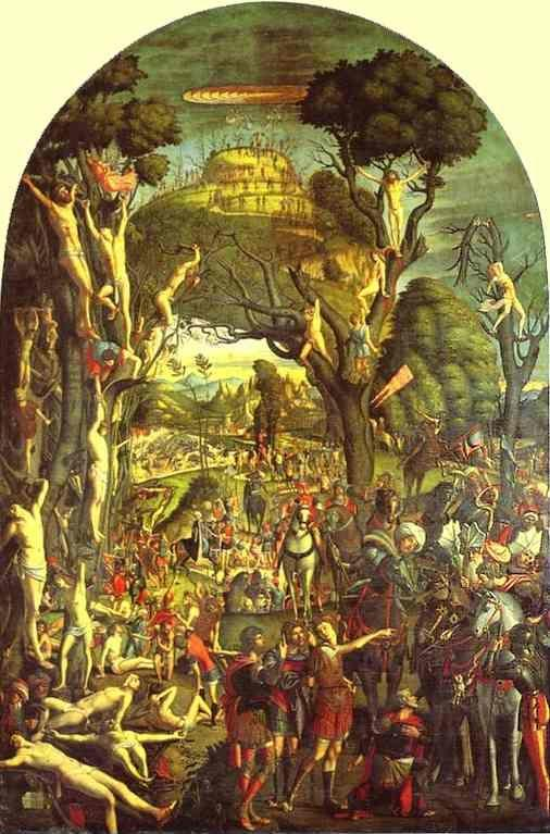 Vittore Carpaccio. The Ten Thousand Crucifixions of Mount Ararat.
