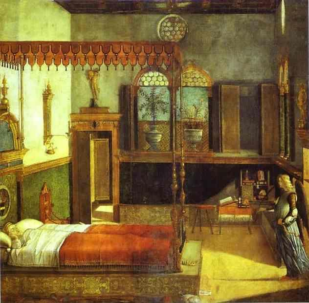 Vittore Carpaccio. Legend of St. Ursula: St. Ursula's Dream.