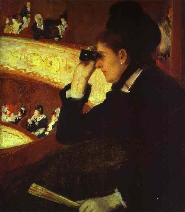 Mary Cassatt. At the Opera.