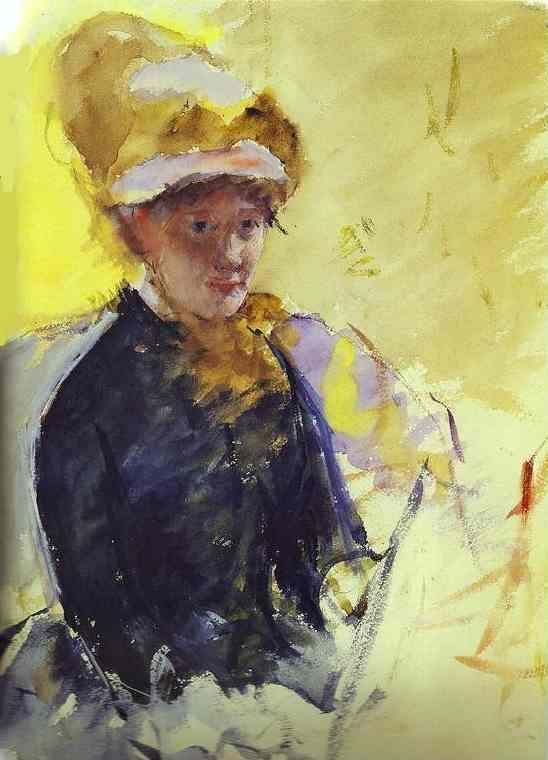 Mary Cassatt Self Portrait