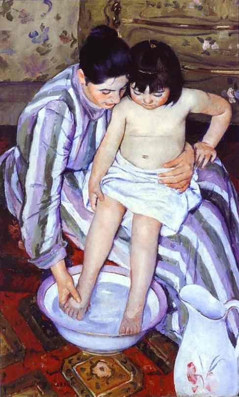 Mary Cassatt. The Bath.