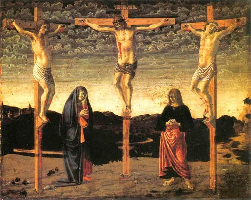 Andrea del Castagno Andrea del Castagno Crucifixion Olga39s Gallery