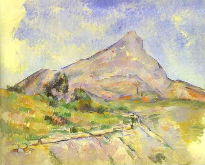 Paul Cézanne. The Mount of St.Victoria (La Montagne Sainte-Victoire).