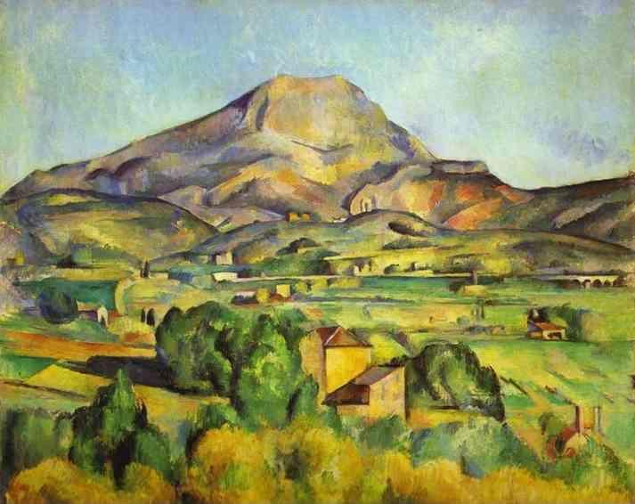 Paul Cézanne. The Mount Sainte-Victoire.