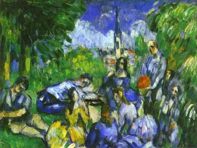 Paul Cézanne. A Lunch on Grass.