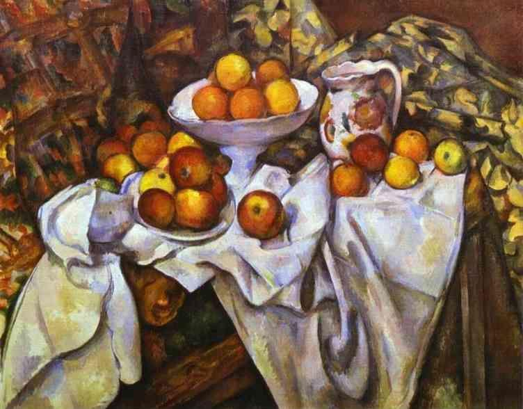 Paul Cézanne. Still Life with Apples and Oranges.