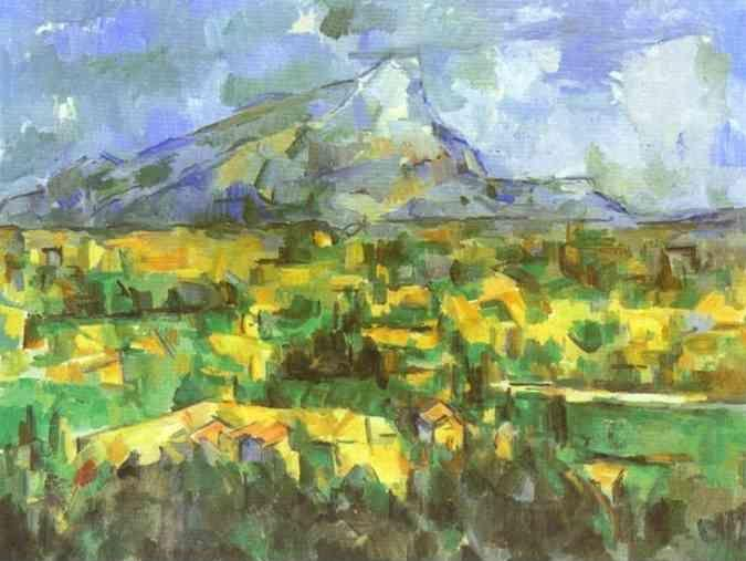 Paul Cézanne. Mount Sainte-Victoire.