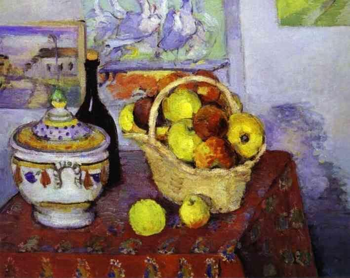 Paul Cézanne. Still Life with Soup Tureen.