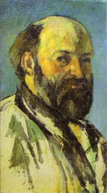Paul C 233 Zanne Self Portrait
