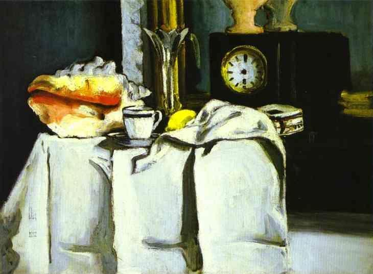Paul Cézanne. The Black Clock.
