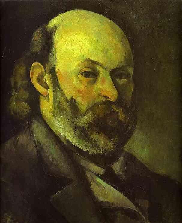 Paul cézanne self portrait