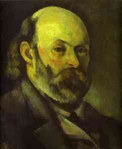 Paul Cézanne Portrait