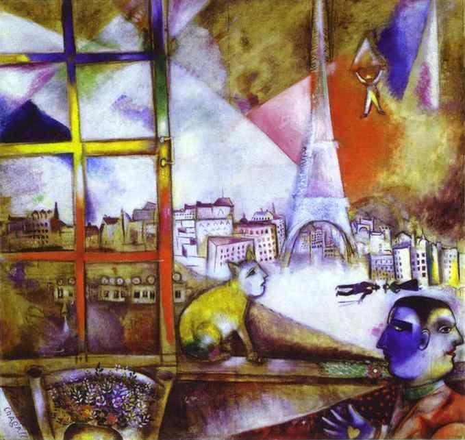 paris par la fenetre marc chagall