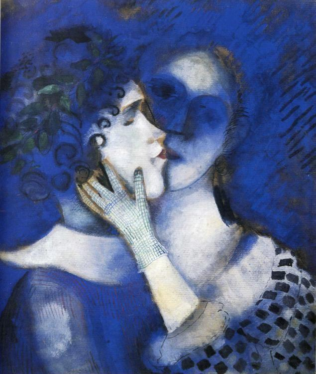 "Marc Chagall. ""Blue"" Lovers."