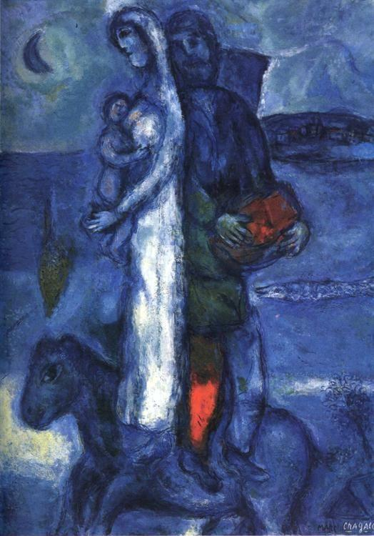 Marc Chagall. Fisherman's Family.
