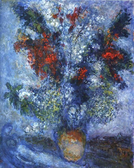 Marc Chagall. Flower Bouquet.