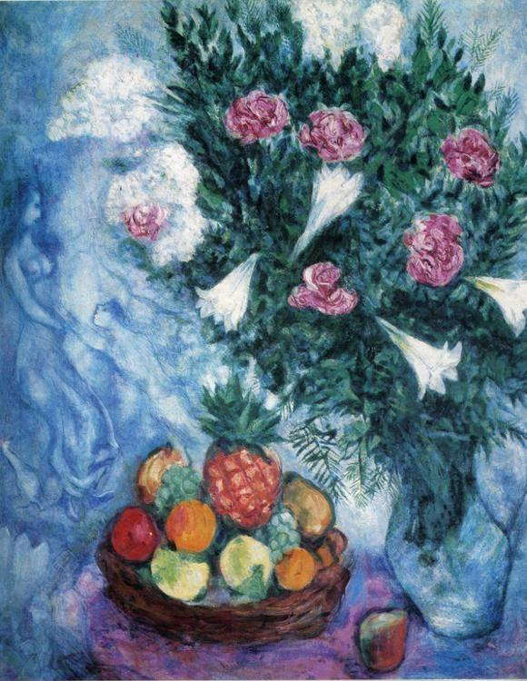 Marc Chagall. Fruits and Flowers (Fruits et fleurs).