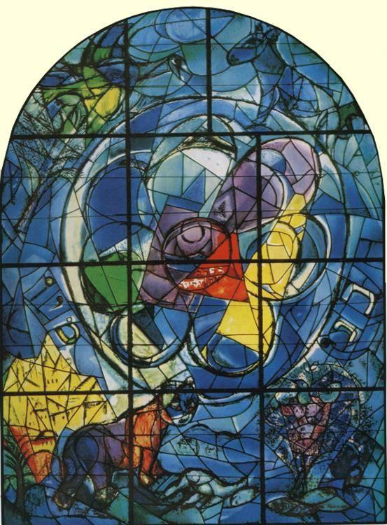 Marc Chagall. The Tribe of Benjamin.