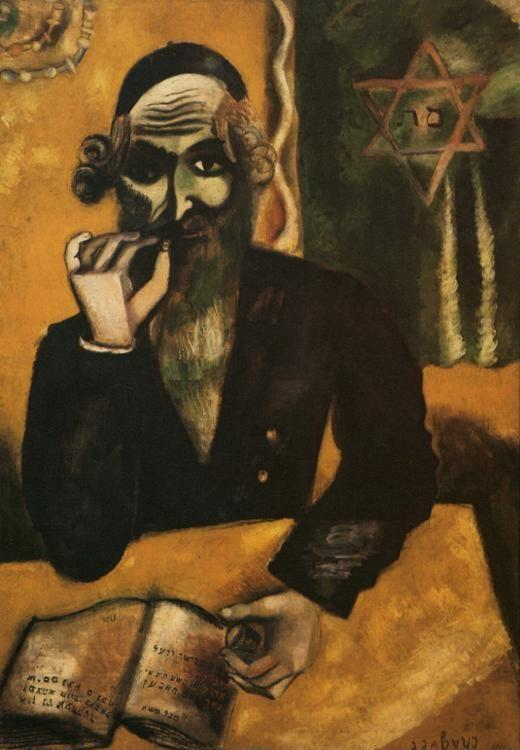 Marc Chagall. The Pinch of Snuff.