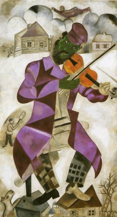 Marc Chagall. The Green Violinist.