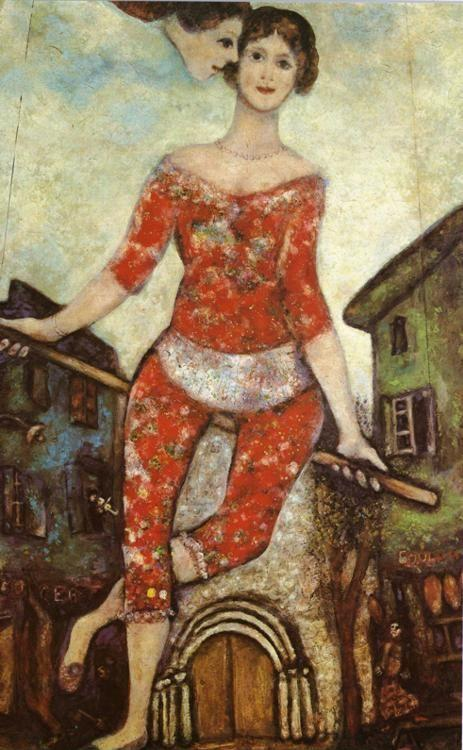 Marc Chagall. The Acrobat.