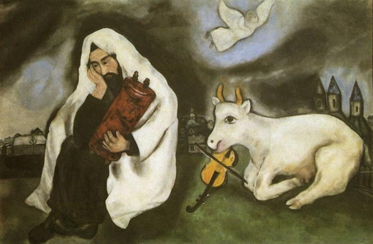 Marc Chagall. Solitude.