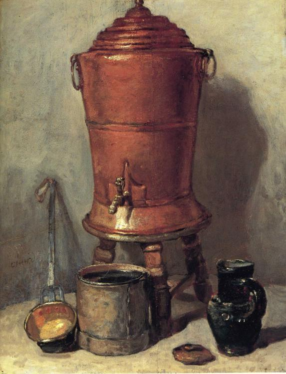 Jean-Baptiste-Simeon Chardin. The Copper Water Urn.