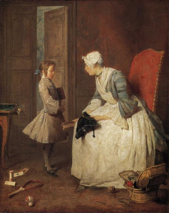 Jean-Baptiste-Simeon Chardin. The Governess.