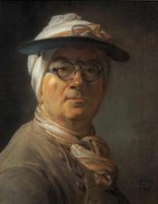 Jean-Baptiste-Simeon Chardin Portrait