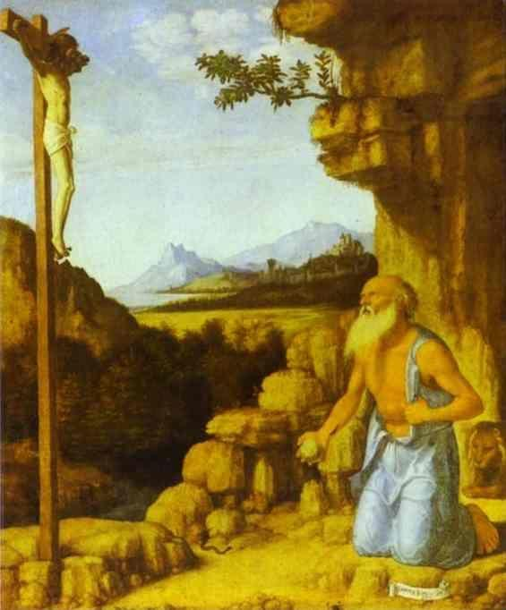 Cima da Conegliano. St. Jerome in the Wilderness.