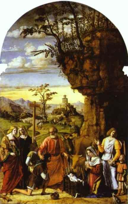 Cima da Conegliano. Adoration of the Shepherds.