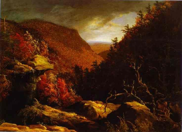 Thomas Cole. The Clove, Catskills.