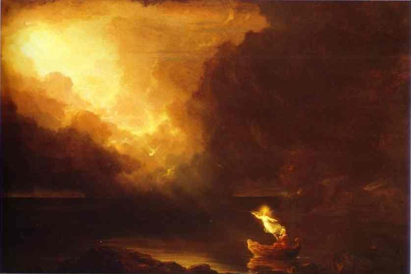 Thomas Cole. The Voyage of Life: Old Age.