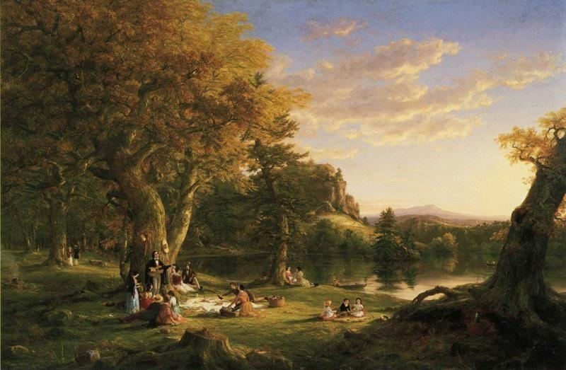 Thomas Cole. The Pic-Nic.