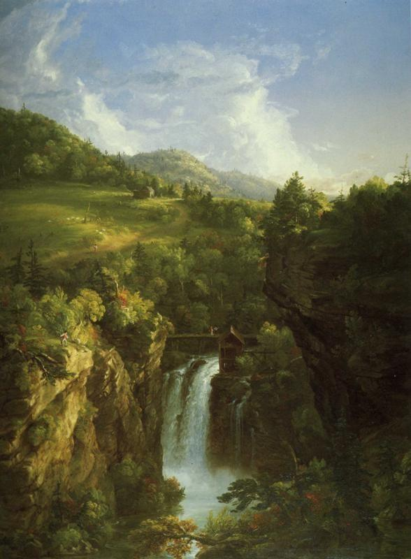 Thomas Cole. Genesee Scenery.