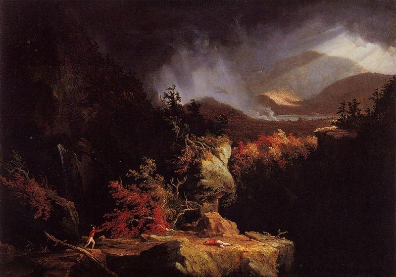 Thomas Cole. Gelyna (View near Ticonderoga).