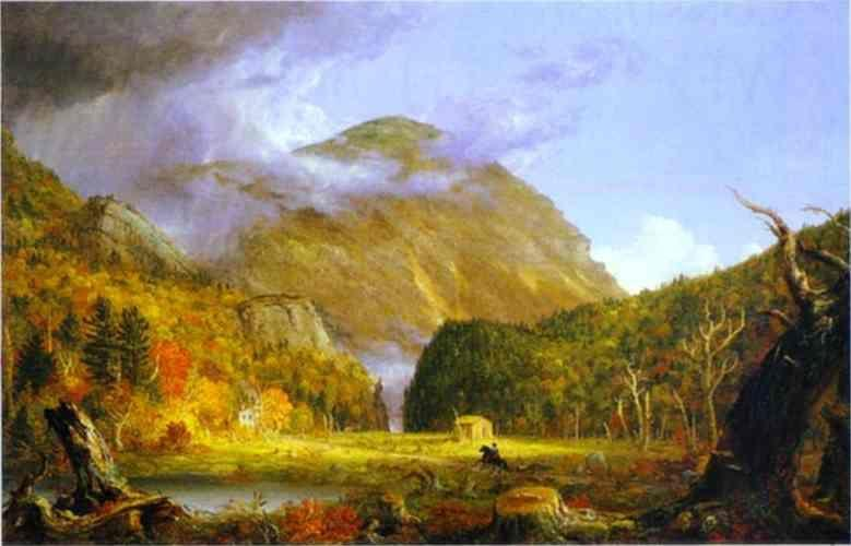 Thomas Cole. The Notch of the White Mountains.