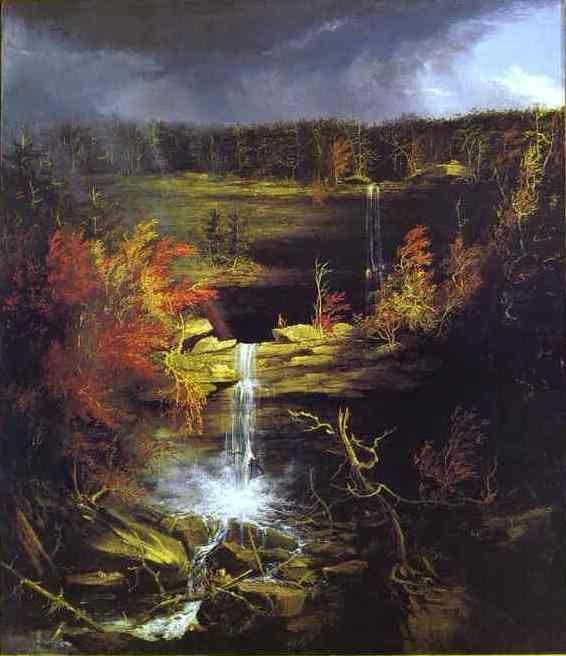 Thomas Cole. Falls of Kaaterskill.