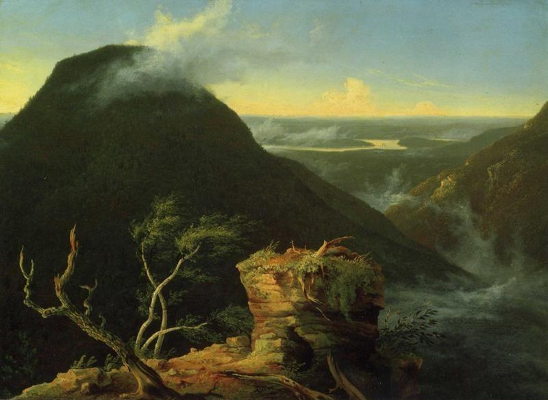 Thomas Cole. Sunny Morning on the Hudson River.