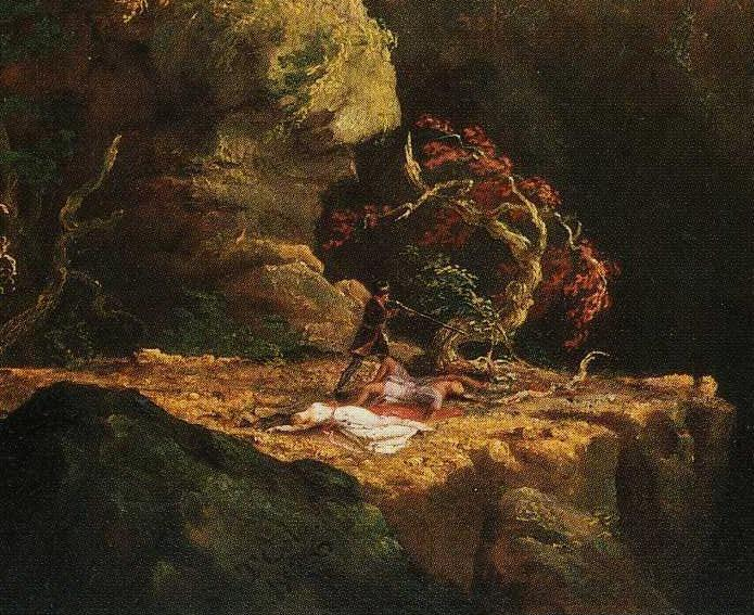 Thomas Cole. Landscape with Figures: A Scene from ""