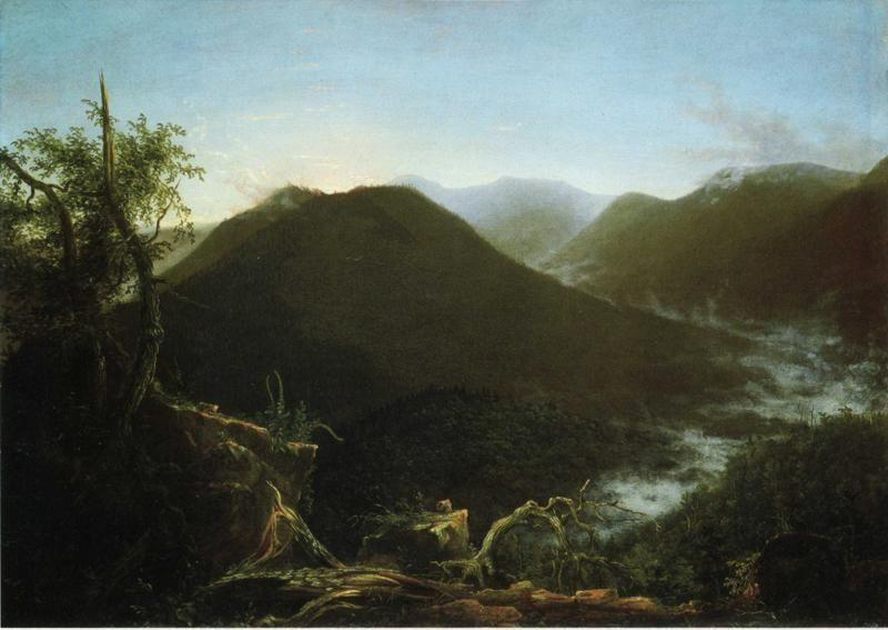 Thomas Cole. Sunrise in the Catskill Mountains.
