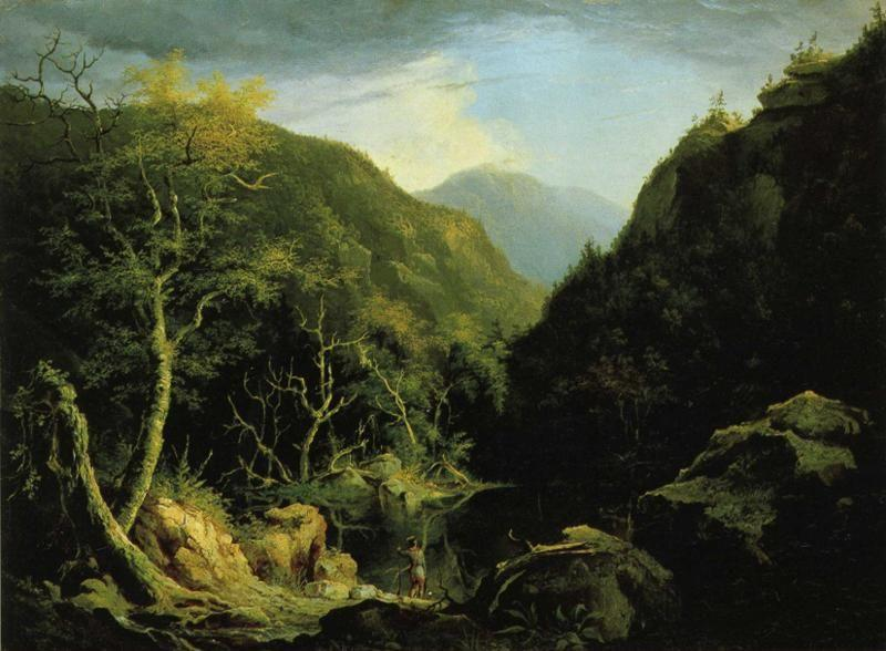 Thomas Cole. Autumn in the Catskills.