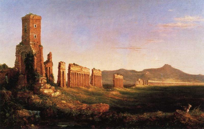 Thomas Cole. Aqueduct near Rome.